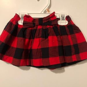 Plaid skirt from carters 2T